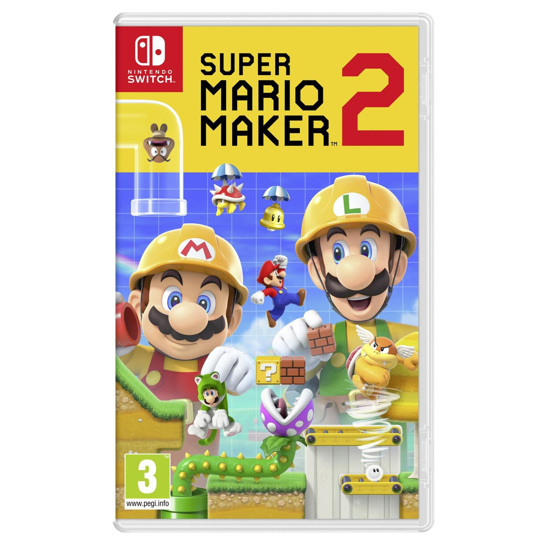 Super Mario Maker 2 Switch Nintendo Le Jeu Video A Prix Carrefour Nintendo Switch Nintendo Jeux De Salon