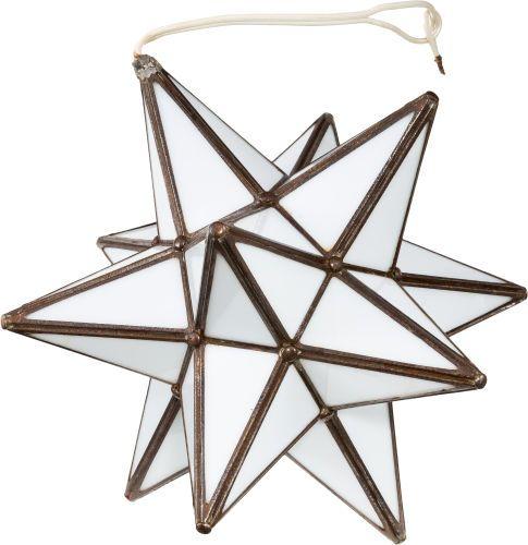 Star-Shaped Light Fixture, 1962. Triangular-shaped panels made of ...