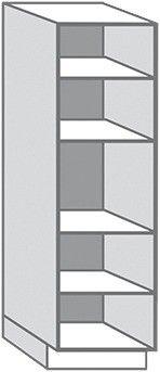 Caisson Colonne Blanc Ep 16 Mm L 60 Cm H 215 4 Cm P 56 Cm