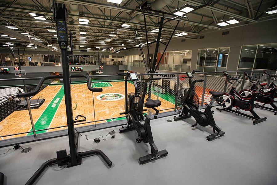 Peek Inside the Celtics New Training Facility at Boston