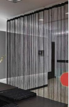 Decorating Your Home with String Curtains | Drapery Room Ideas ...
