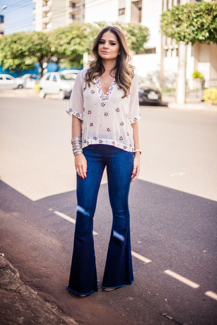 44ec9ec9a Thassia Naves | Inspiração em looks | Fashion, Jeans style e Casual ...