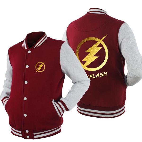 Men's Clothing Flash Superman Series Luminous Baseball Jacket Boys Girls Streetwear Coat Autumn Winter Fleece Warm Jackets Hip Hop Sweatshirt Latest Technology