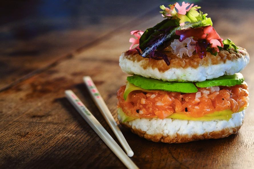 Sushi Burgers Exist Because Nothing Is Sacred | Foodiggity