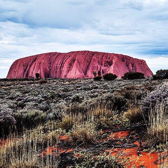 Ayers Rock By Kara Rosenlund.