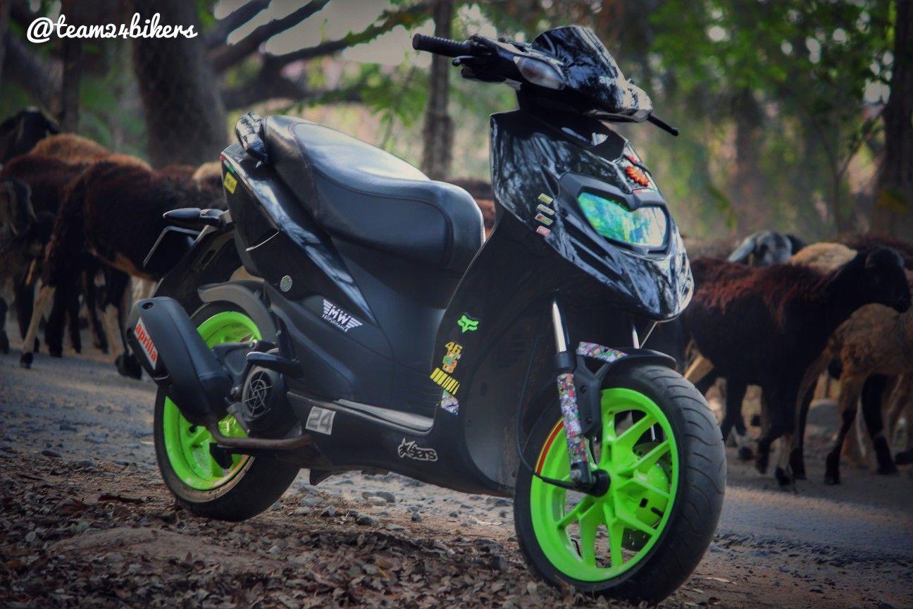 aprilia sr 150 modified team 24 bikers krishnagiri mujju24