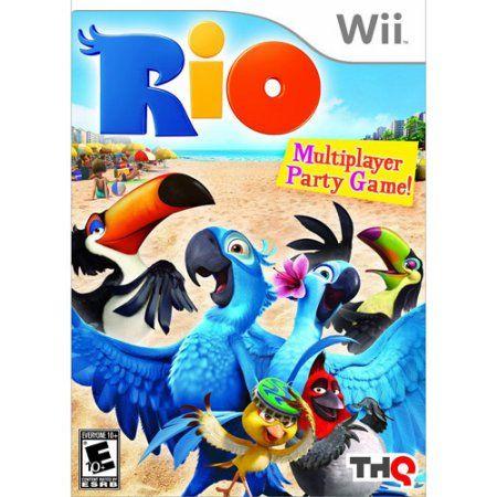 Rio Nintendo Wii Walmart Com Wii Games Wii Adventure Party