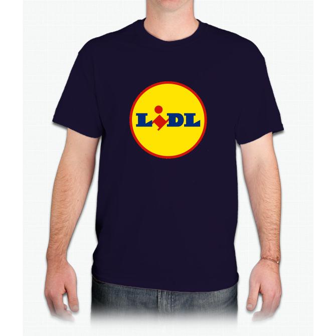 Logo Lidl Mens TShirt Products Shirts, Mens tops, T