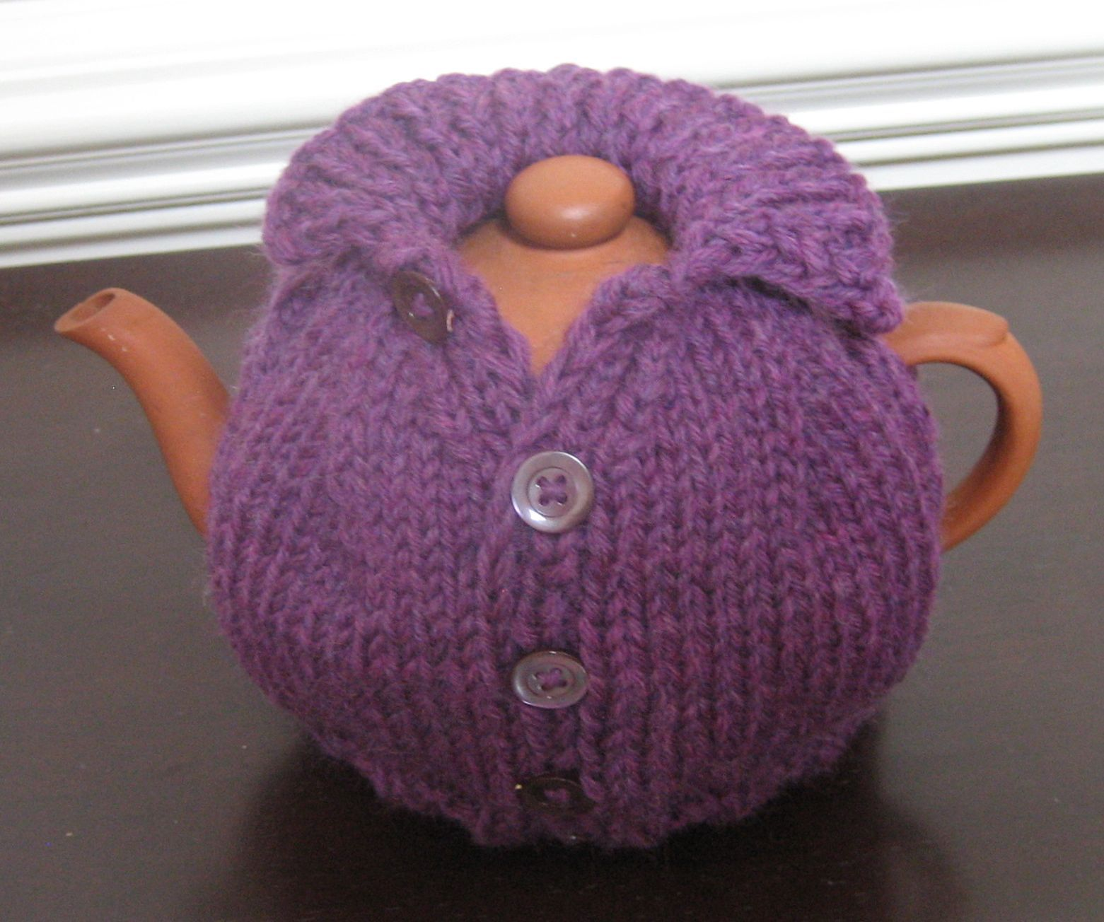 The purple tea cosy cosy jackson and teas teapot dt1010fo