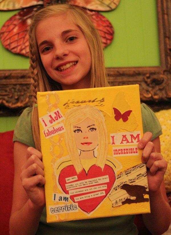 28 tessa canvas | Brave girl, Girls club, Language arts