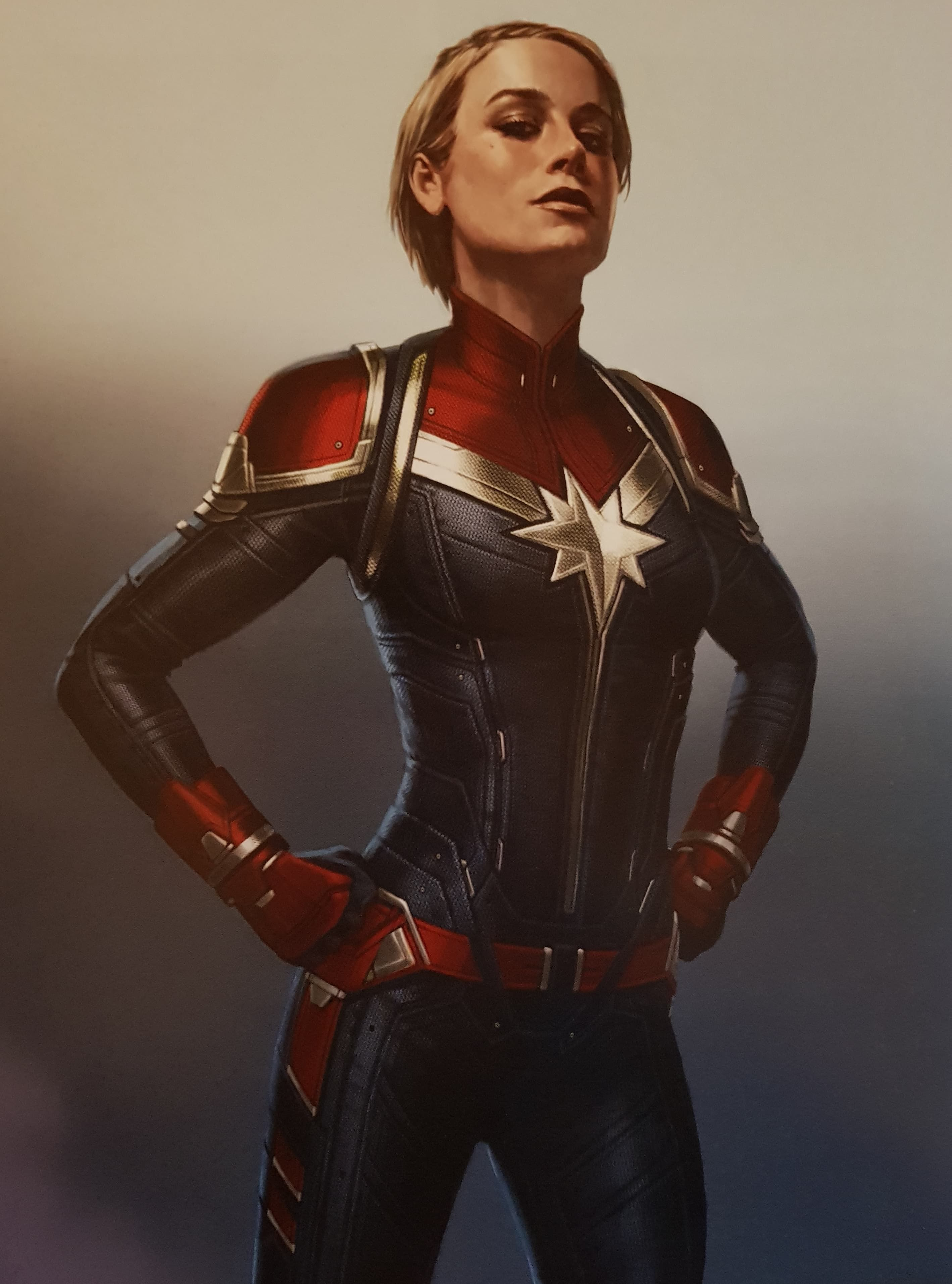 Captain Marvel Concept Art Features Some Crazy Alternate Suit Designs And Her Binary Form Marvel Concept Art Marvel Costumes Marvel Cosplay A cropped vest covers the upper part of the jumpsuit and features. captain marvel concept art features