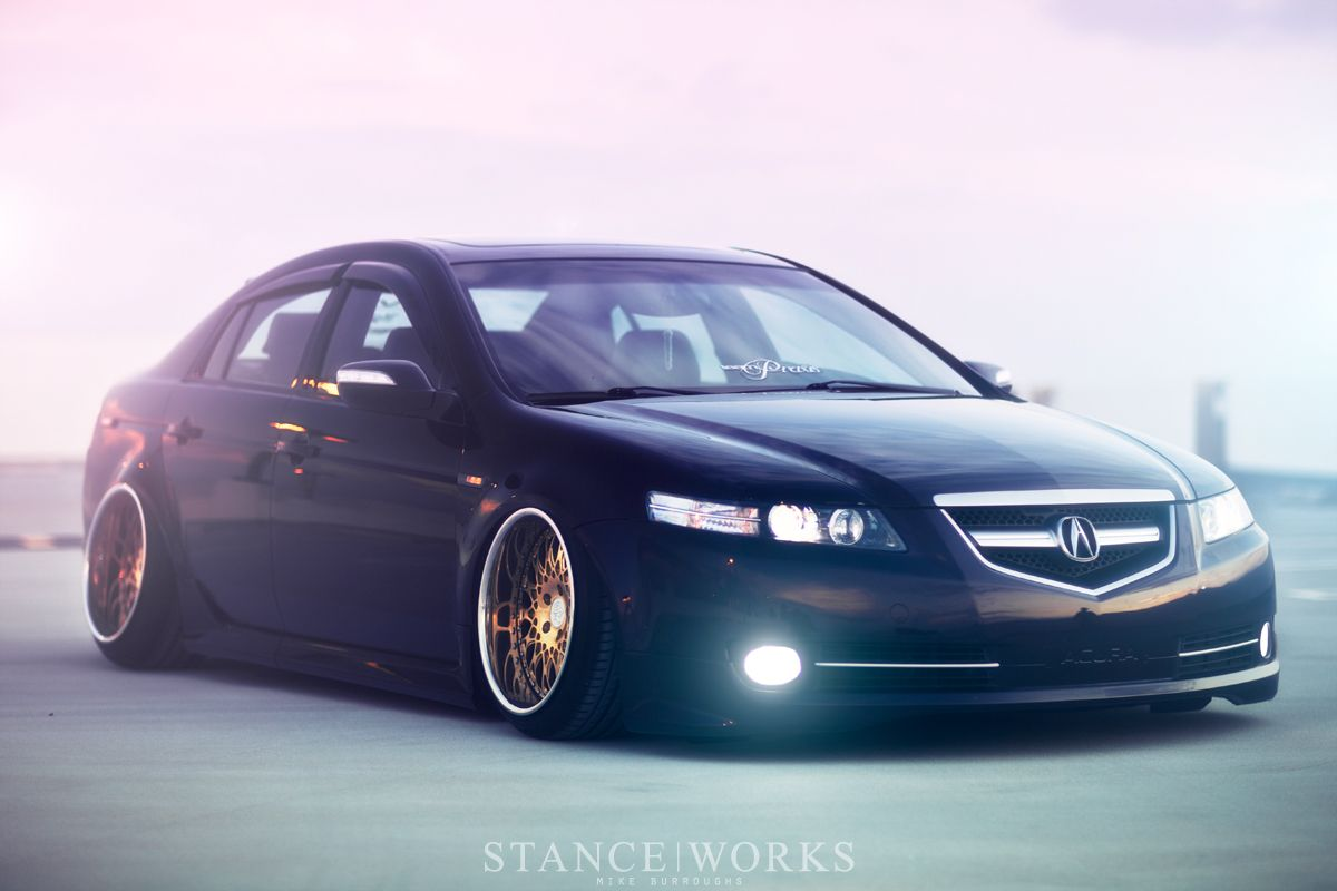 Family Man Stance Works Acura Tl Acura Rsx Type S Acura