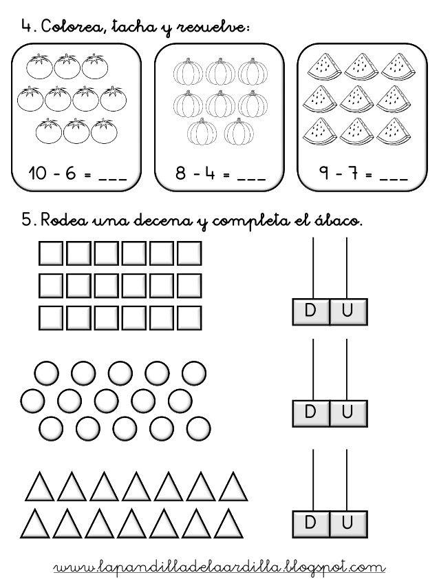 Pin En Matematica Primaria