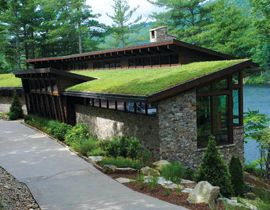 From Rooftop To Pavement Articles Erosion Control Green Roof Green Roof House Underground Homes