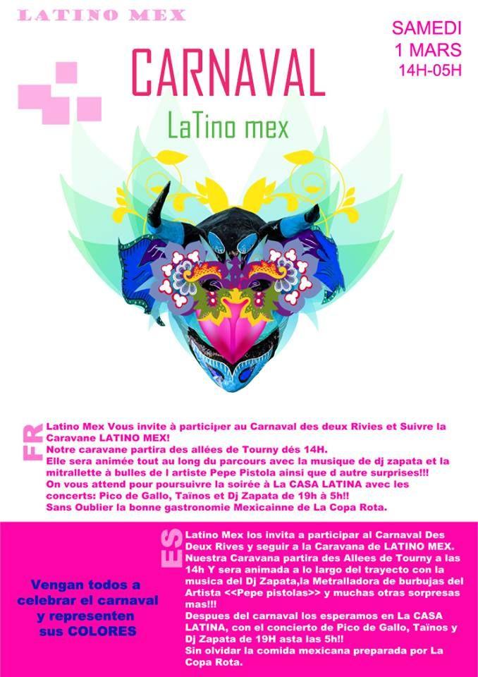 Carnaval 2014 a Casa Latina Bordeaux