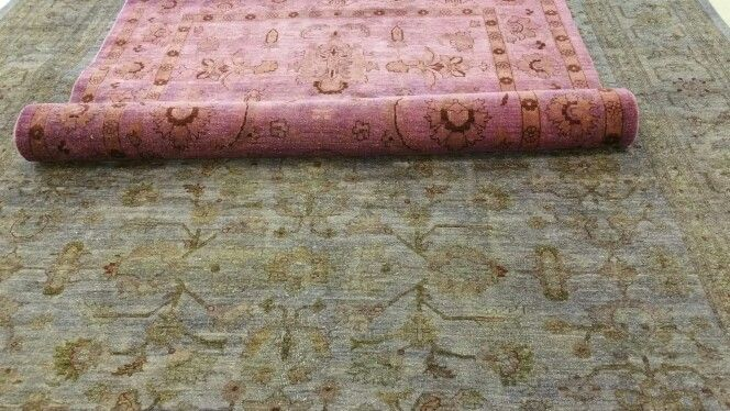 Rugs we over dyed to custom colors