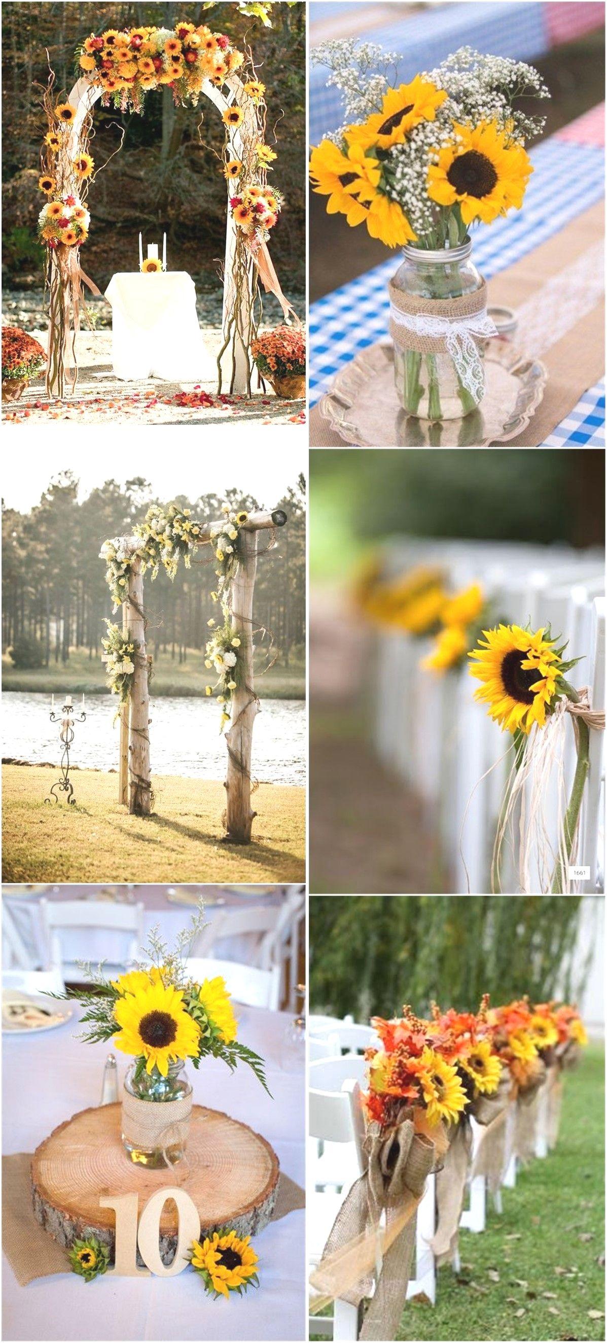 15 Stunning Wedding Hacks in 2020 Sunflower wedding