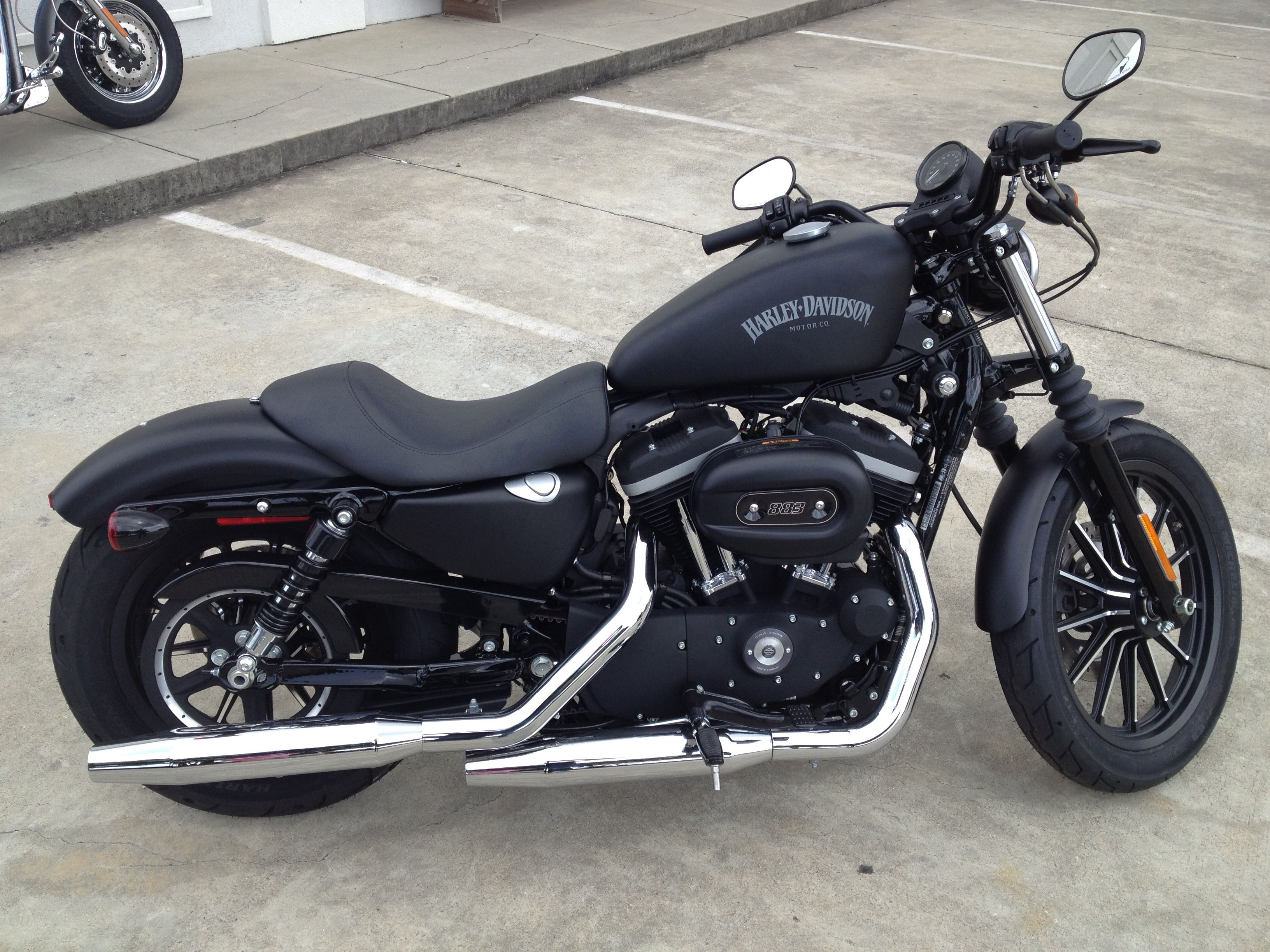 And one day this 2013 Harley Davidson sportster 883 will be mine as