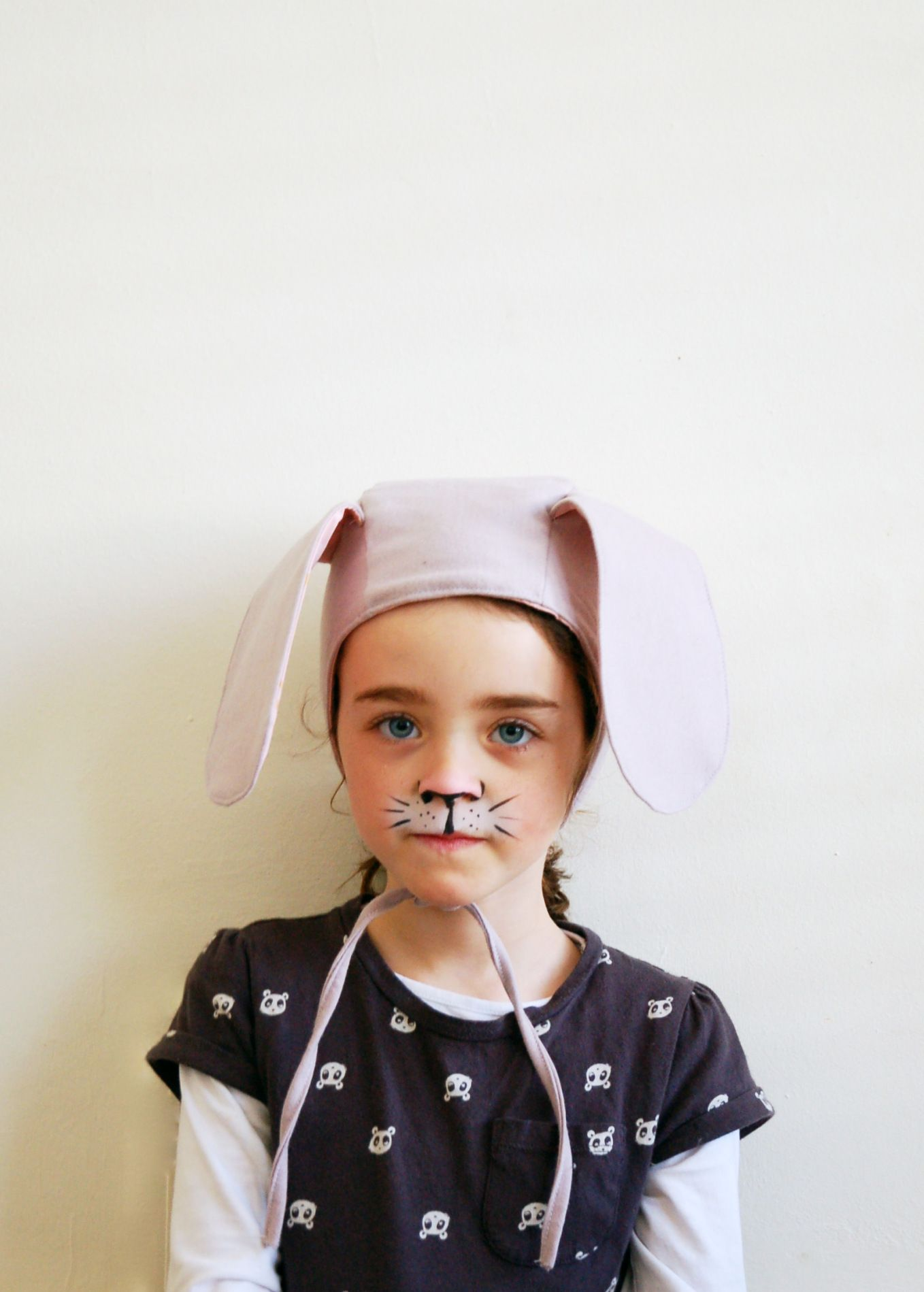 Rabbit bonnet/hat with free pattern