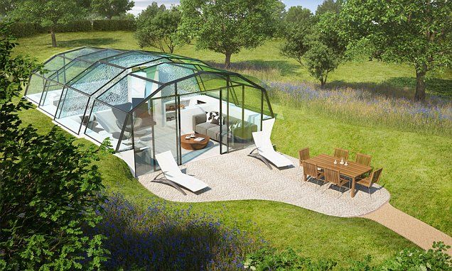 Would you live in a glass house? #DailyMail
