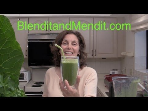Avoid the Foam in your Greenie Smoothie ~ use gelatinous fruit, she explains how the foam is created and how to reduce the amount of foam on your smoothie; enjoy!