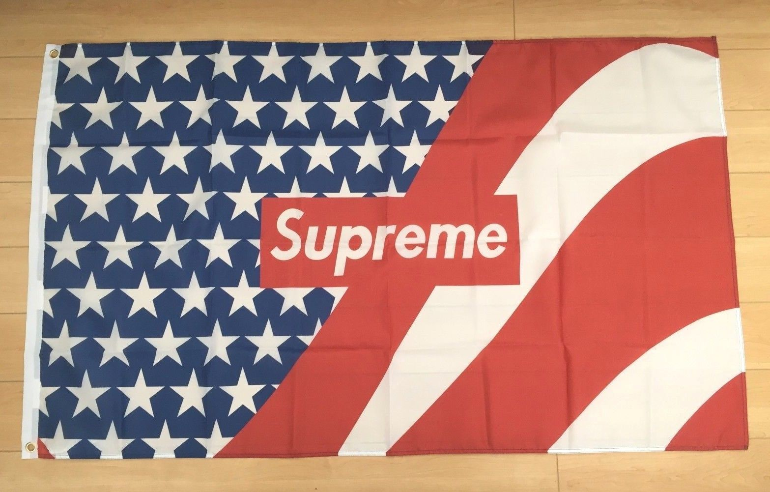 Flags 43533 Supreme American Flag 3x5 Ft Banner Hypebeast Buy