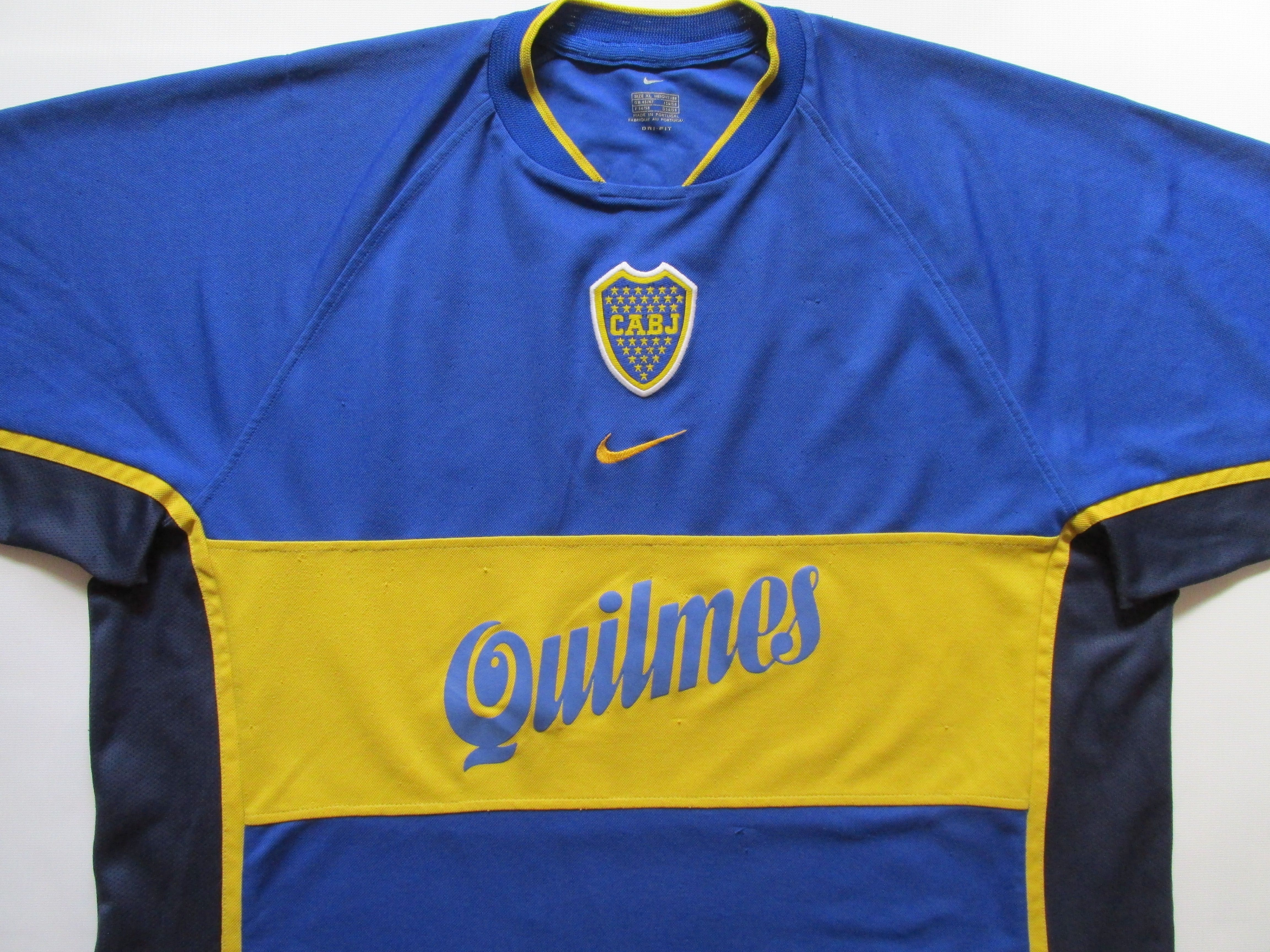 buy online 134f0 ddf21 Boca juniors 2001 home football shirt camiseta soccer jersey ...
