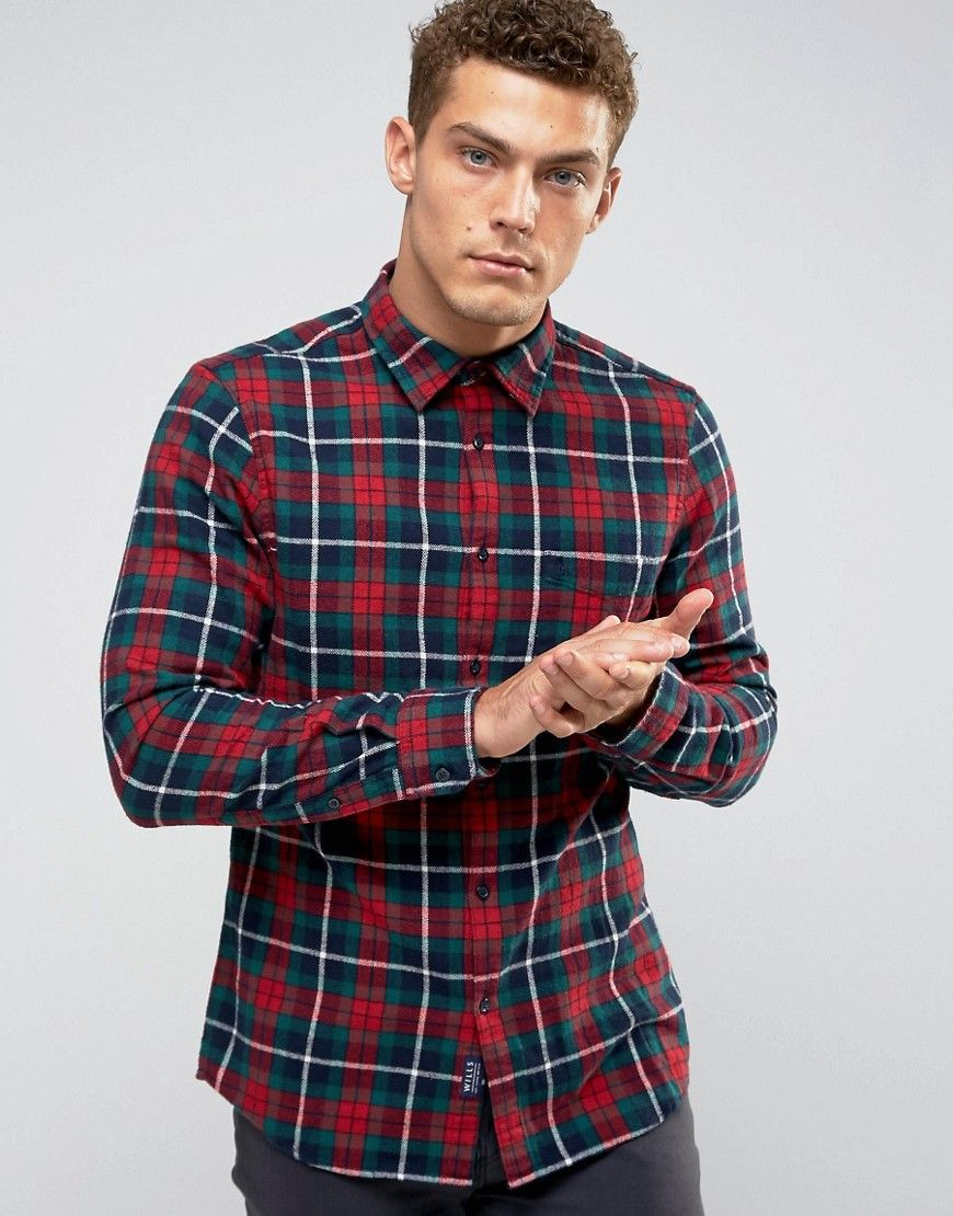 Plaid · Get this Jack Wills's plaid shirt ...