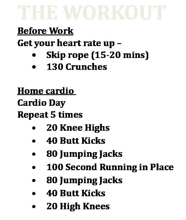 cardio workout   with images