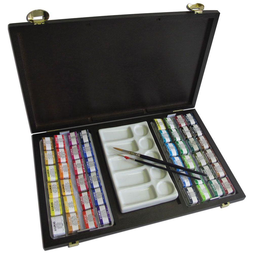 Wish List Watercolor Sets Lukas Aquarell 1862 Jerrysartarama