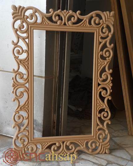 Wooden Decorative Mirror Frame, Wood Mirror Frames Design