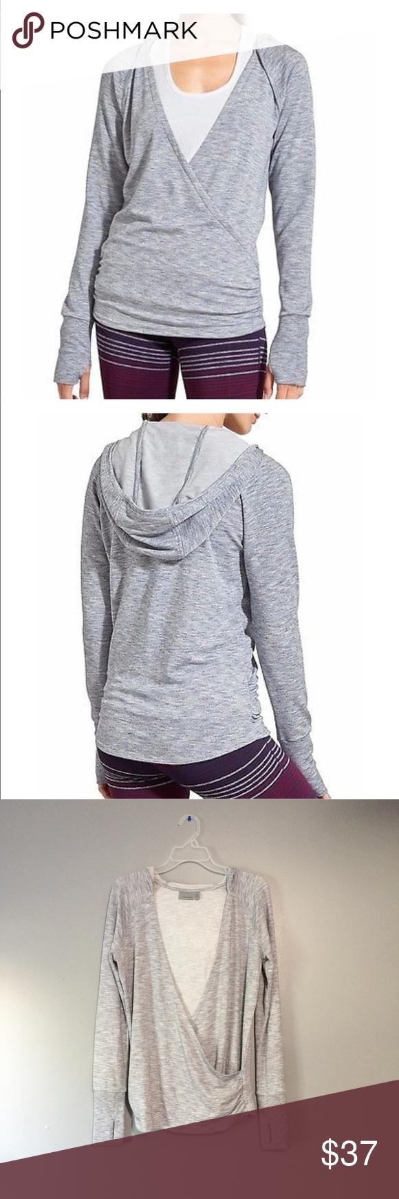 Athleta Studio Wrap Hoodie Gray Size Sx Athleta Studio Wrap Hoodie Gray Size Sx Perfect Condition Athleta Tops Sweatshirts Fashion Women Shopping Grey Hoodie [ 1740 x 580 Pixel ]