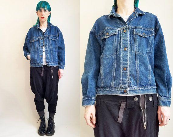 80s Calvin Klein Denim Jacket Vintage Jean Jacket Vintage Etsy Vintage Denim Jacket Vintage Jean Jacket Vintage Jeans