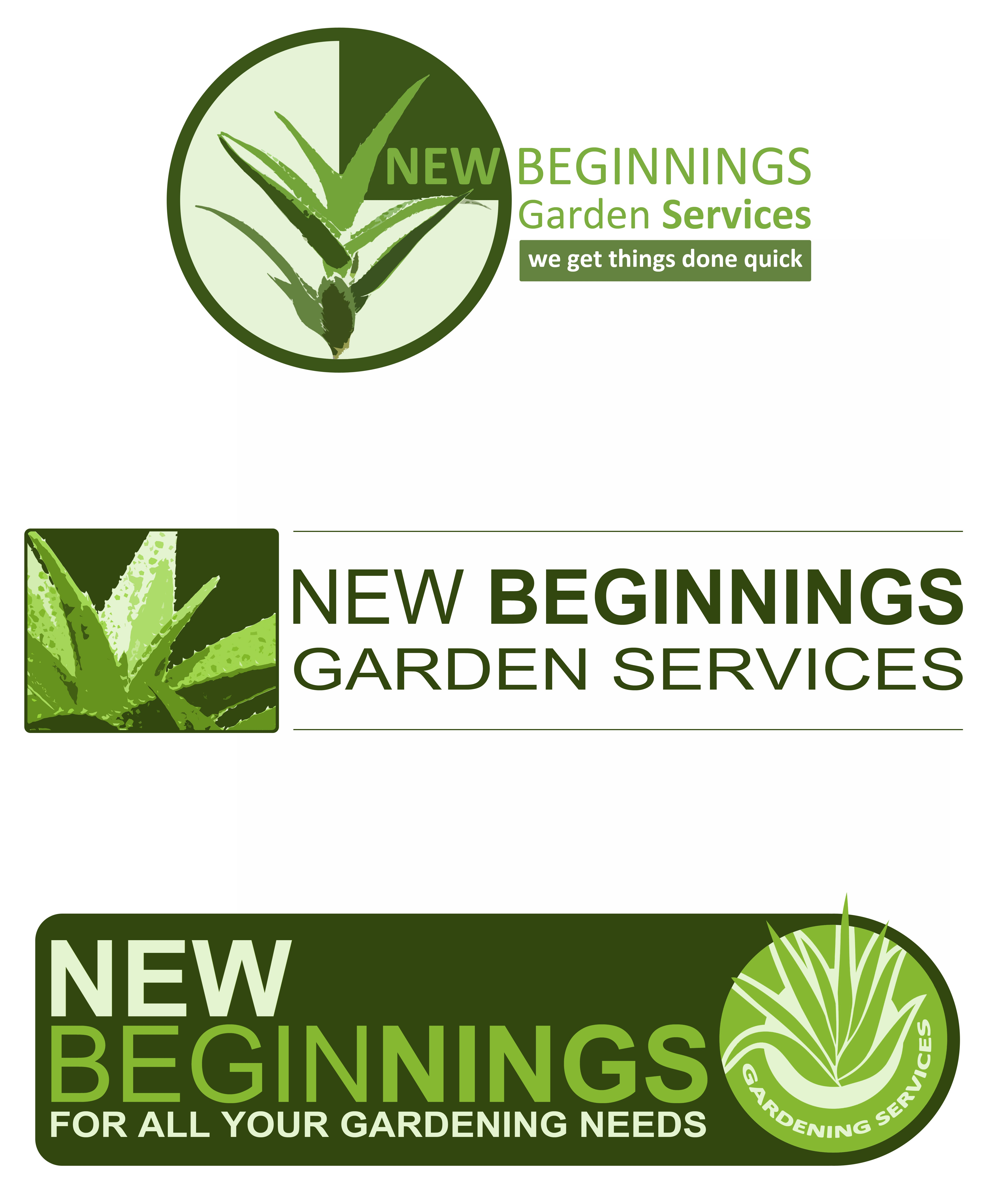 Design concepts for New Beginnings