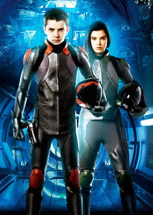 No Offense But I Imagined Petra Uglier Not That That S Even Offensive Ender S Game Sf Movies Battle Suit