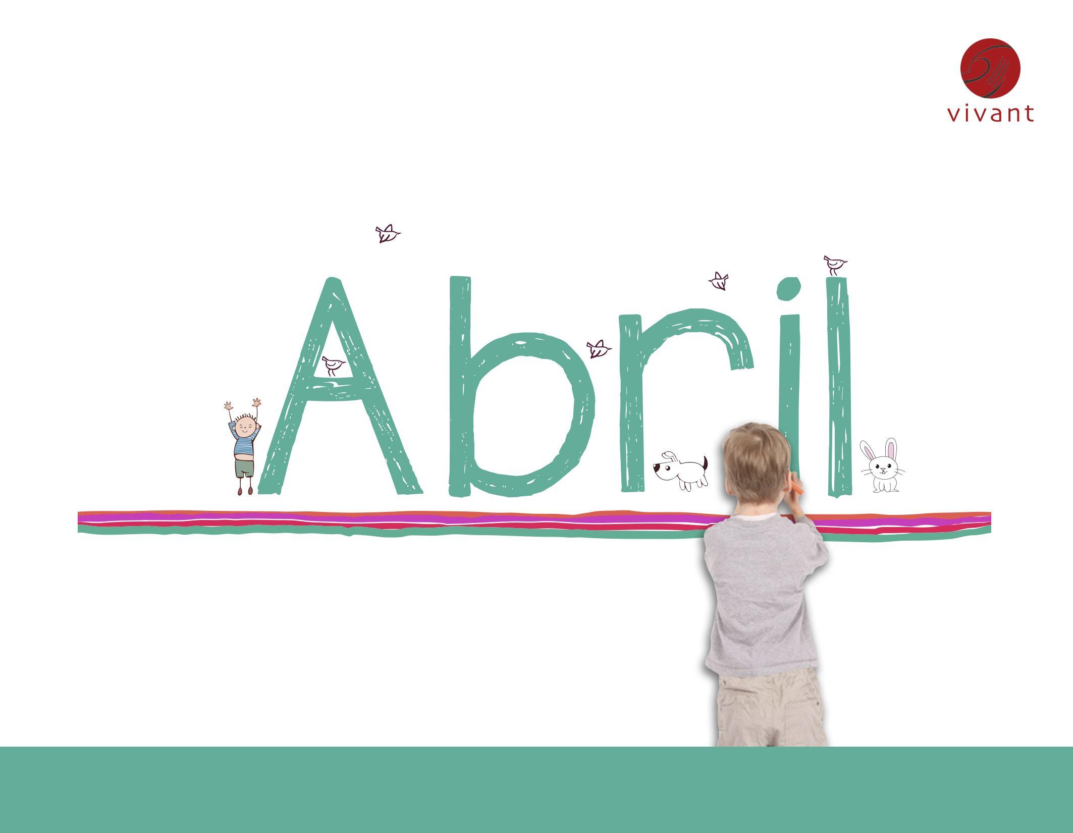 #Abril #Vivant