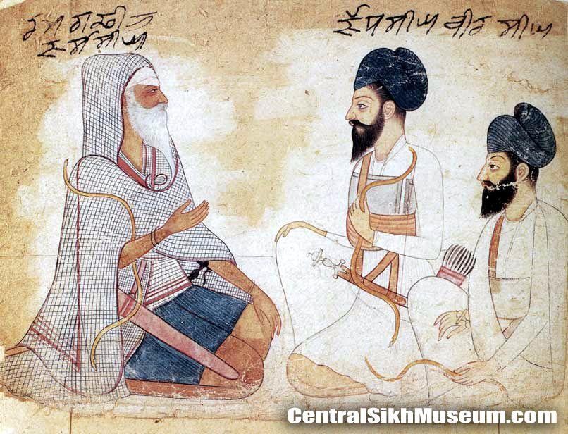 Jassa Singh Ramgarhia with his son Jodh Singh Ramgarhia and