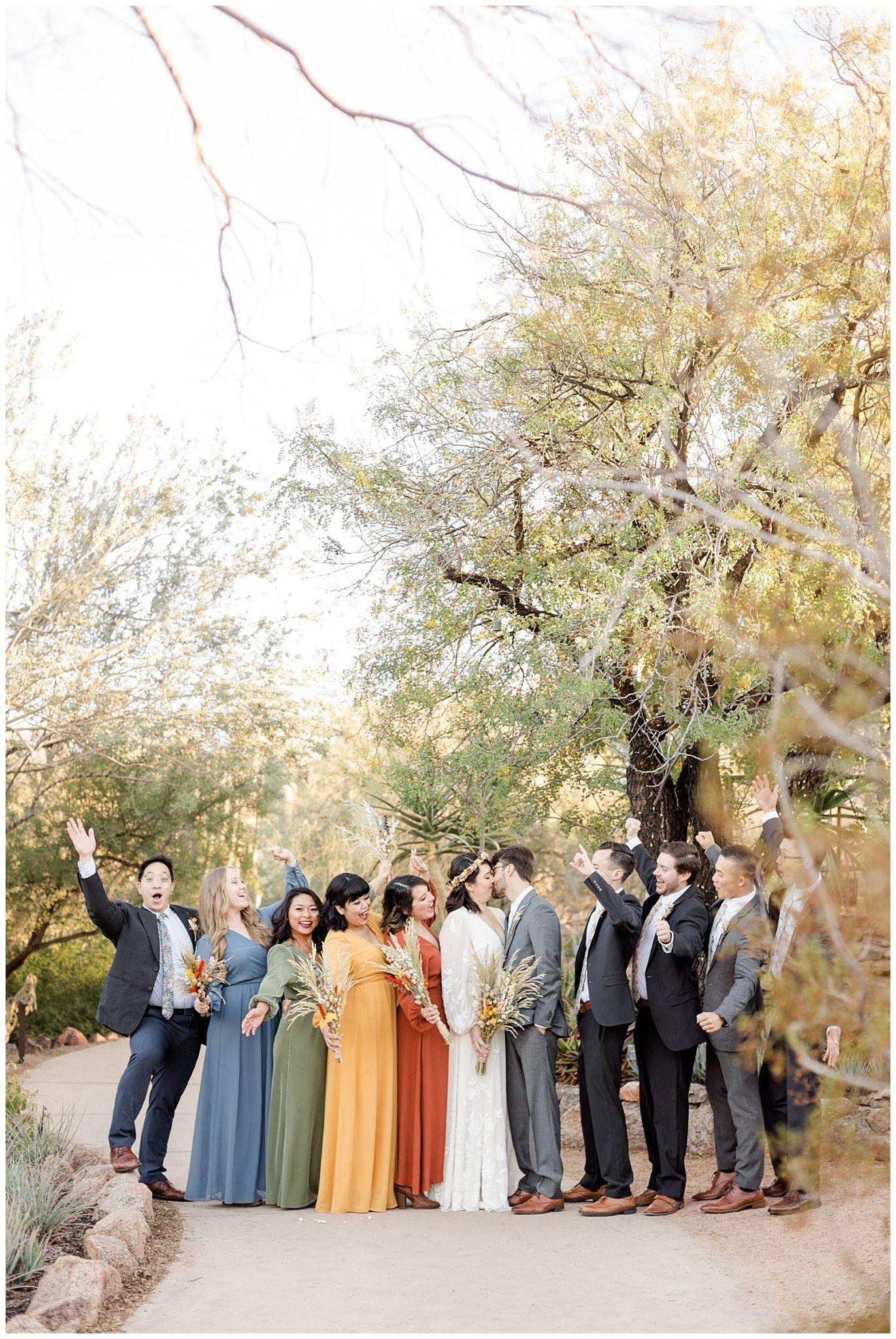 Desert Botanical Garden Wedding Boho Dreamland