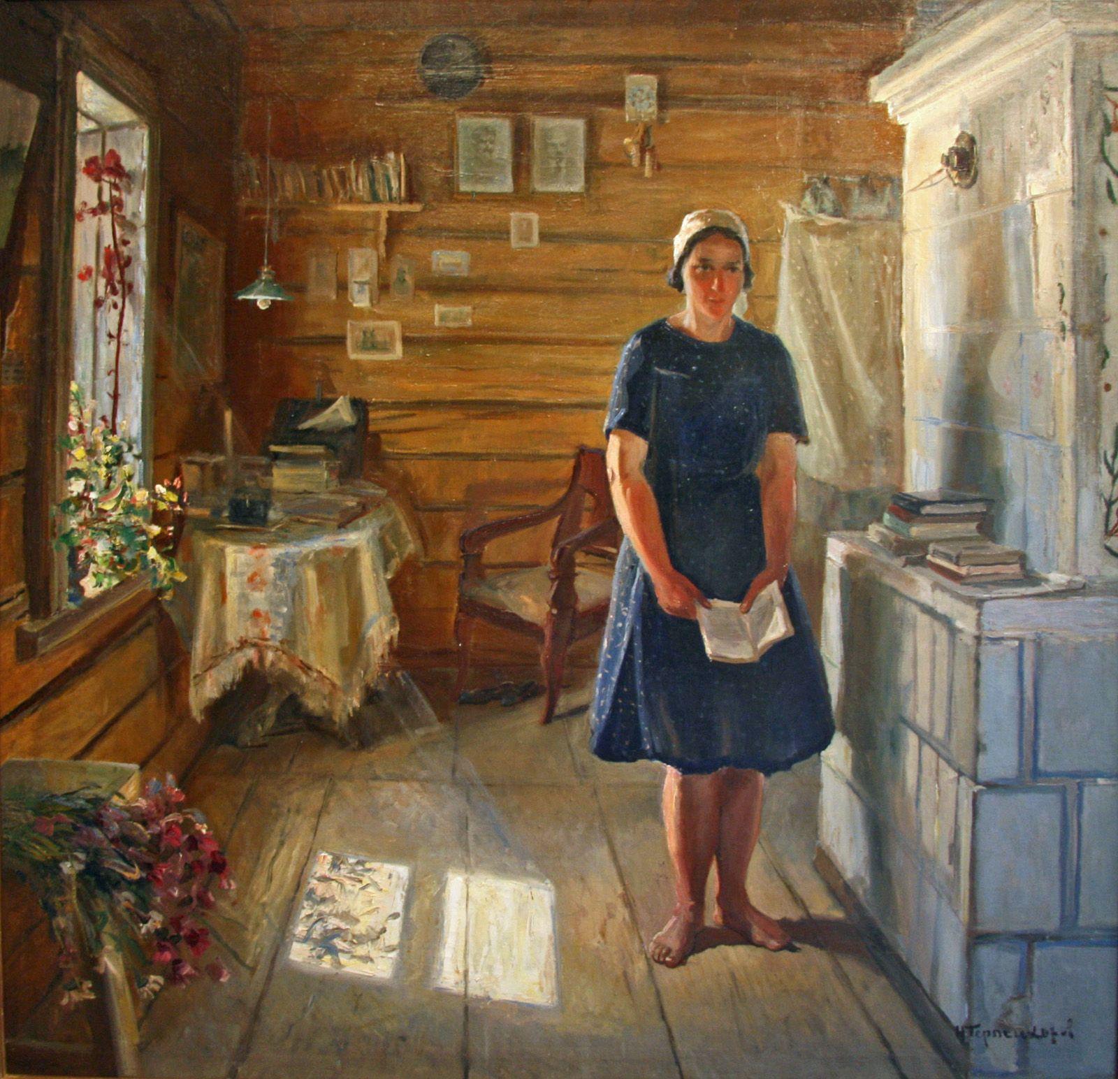 фотографа советский быт в картинах художников что думаешь