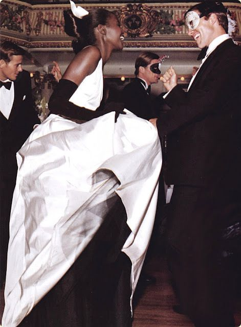 Who's up for a masked ball....none other than Steven Meisel photographed this editorial.
