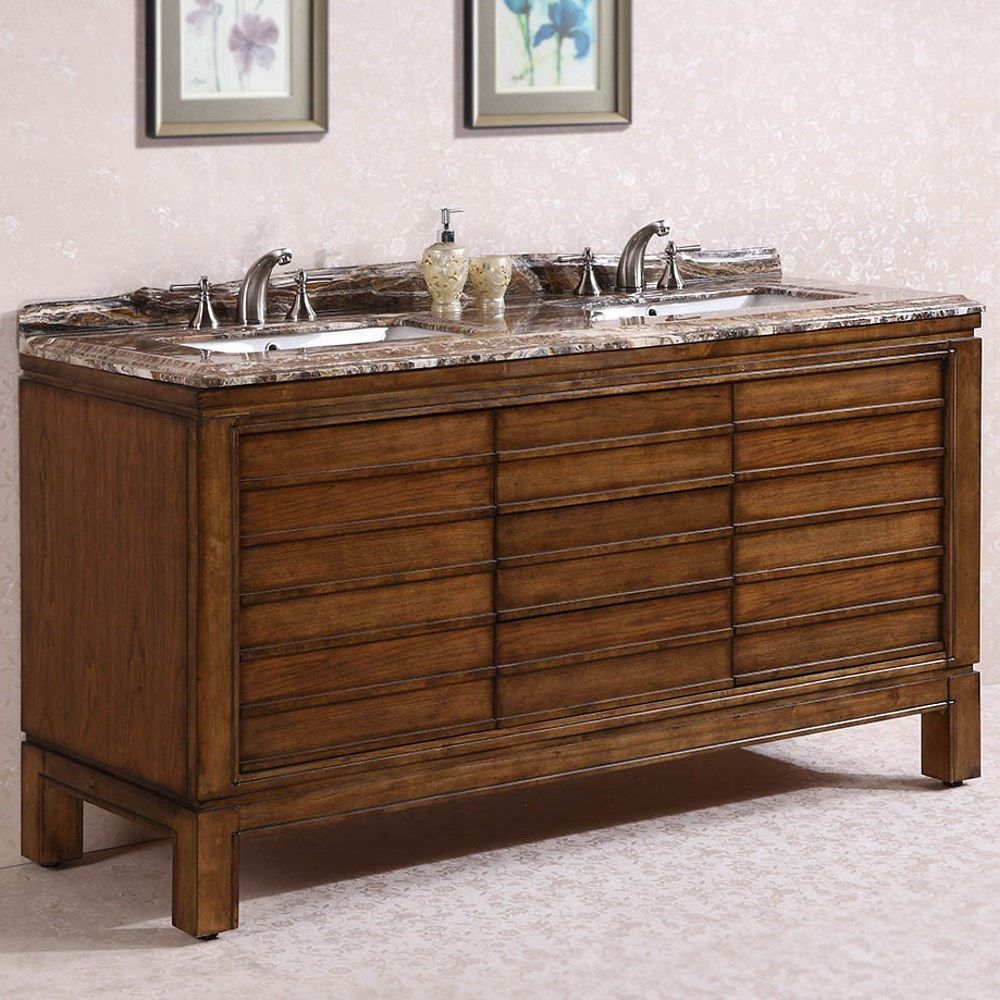 Legion Furniture Wh3267 67 Solid Wood Sink Vanity With Marble Top