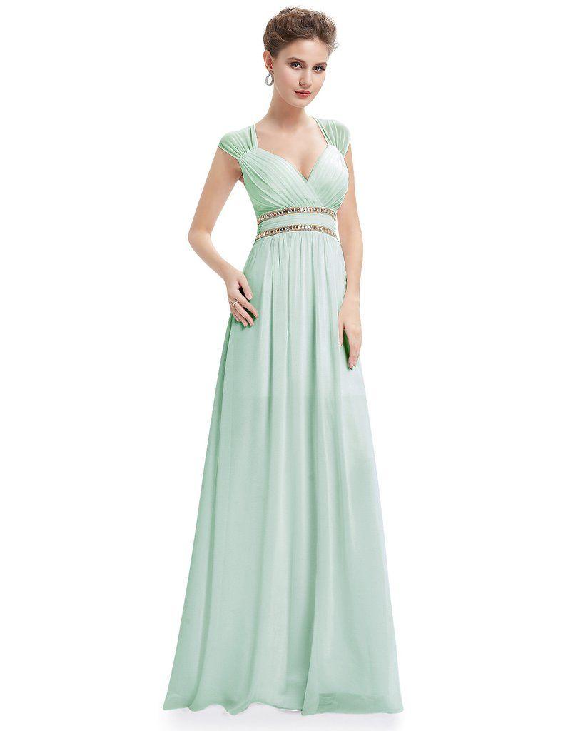 Vestido doble tira Amanda | Vestidos | Pinterest | Escote, Vestido ...