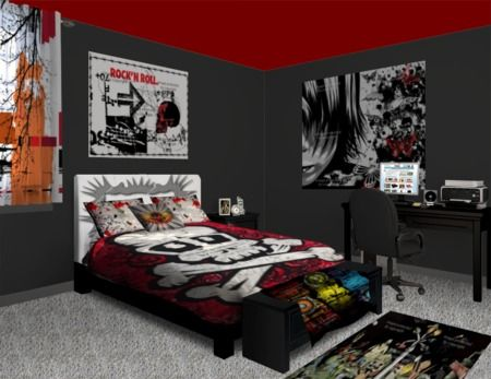 Pinterest discover and save creative ideas for Rocker bedroom designs