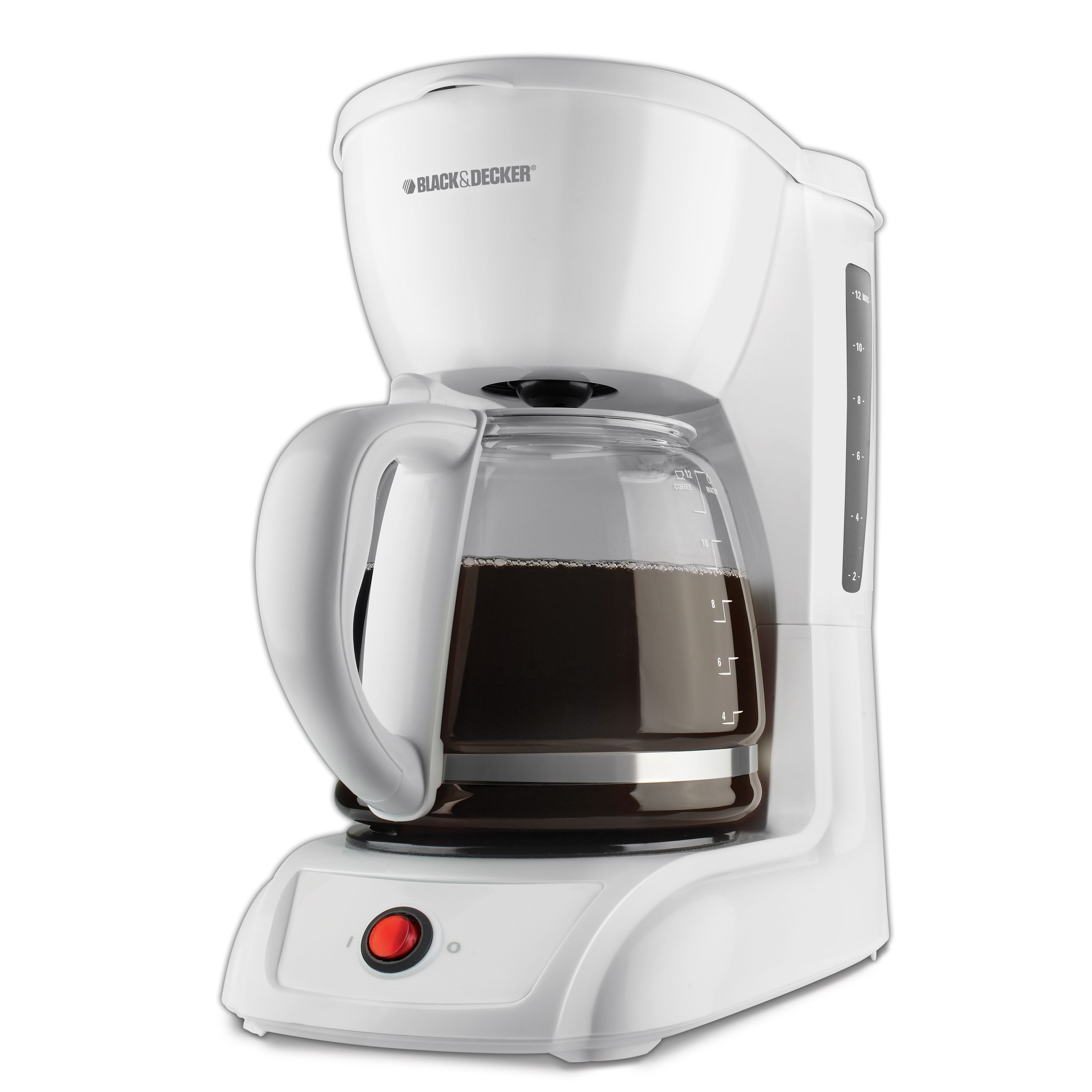 Applica black u decker cmw white cup switch coffeemaker
