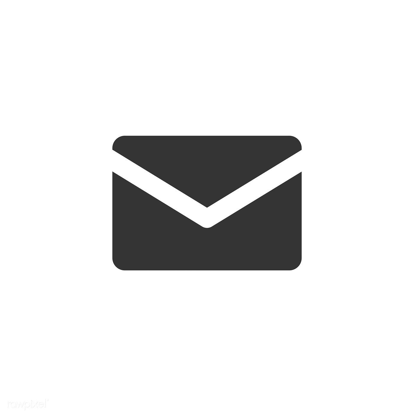 Download Premium Vector Of Mail Icon Vector 533816 Mail Icon Email Icon Business Icons Vector
