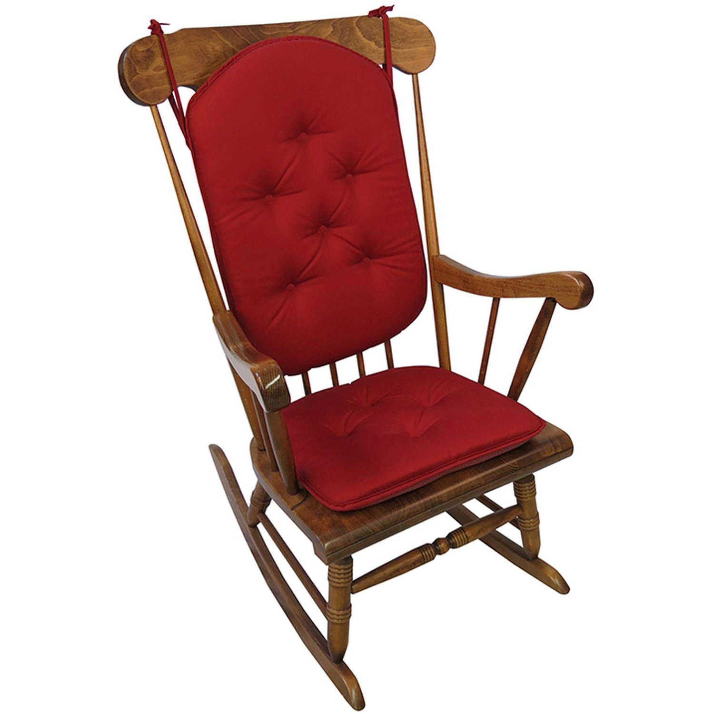 Gripper Jumbo Rocking Chair Cushions Twill Walmart