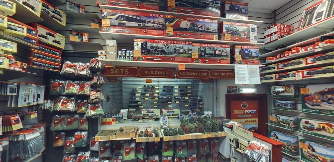 Hornby Railways at Wonderland Models in Edinburgh, Scotland's