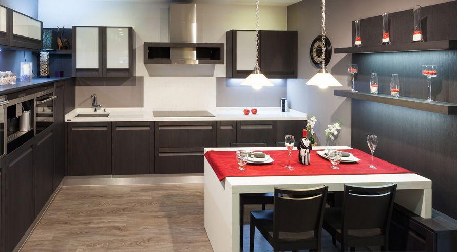 Interiores de casas modernas cocinas for Interiores de cocinas