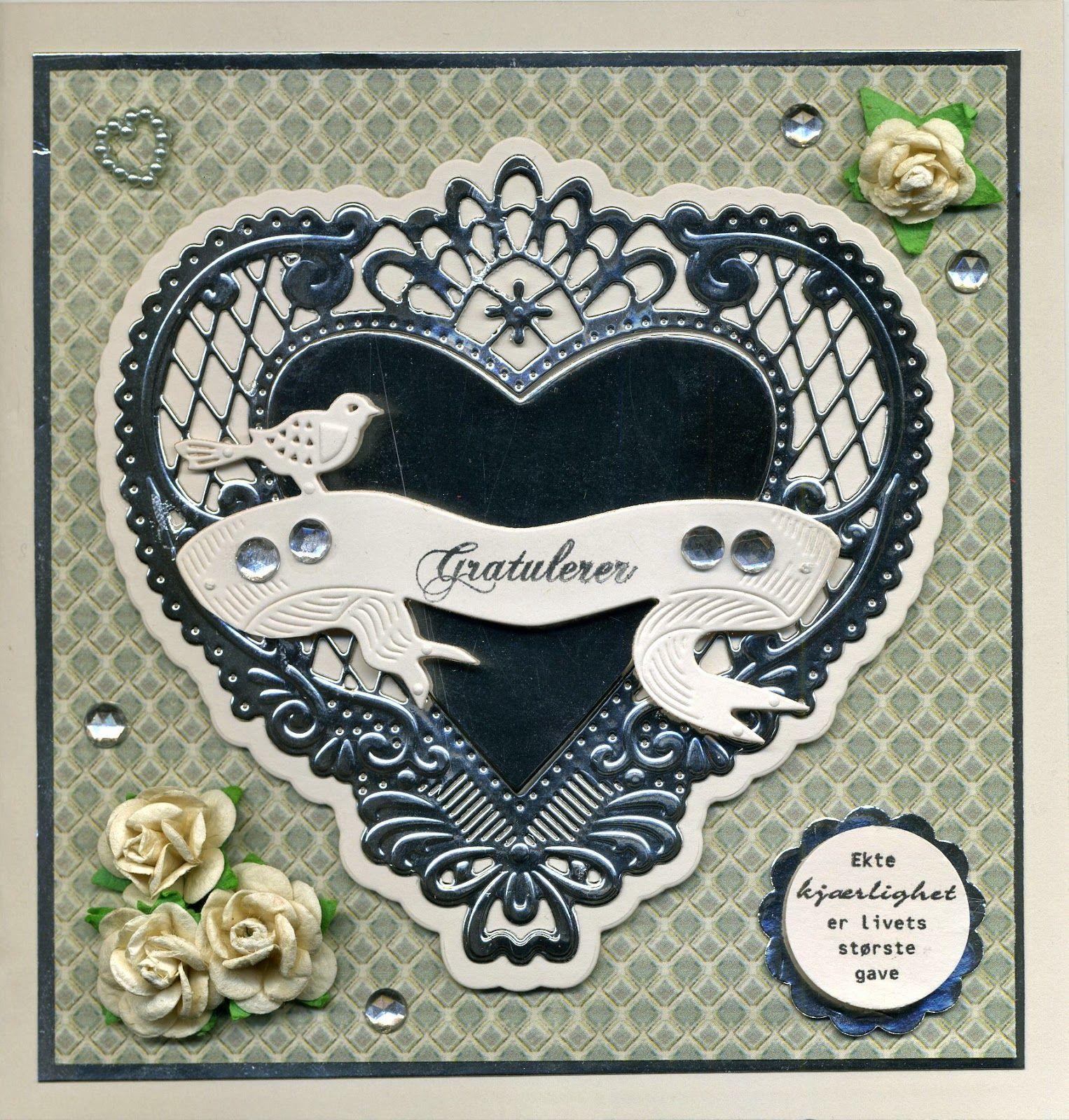Bryllupskort til Beth Kristin
