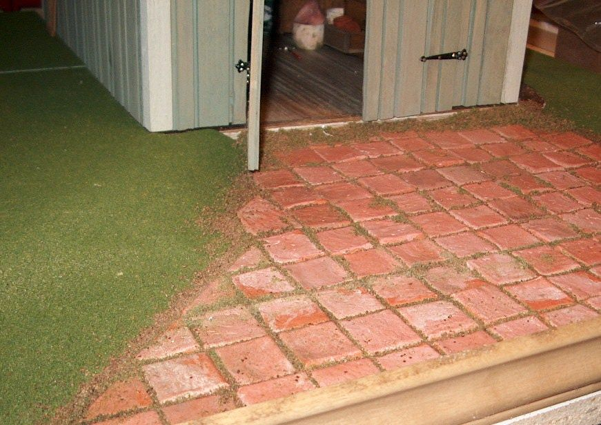 how to: paving tiles
